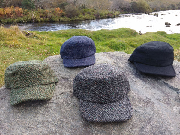 Donegal-tweed-baseball-hats