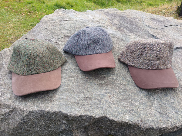 Donegal-tweed-combat-baseball-hats