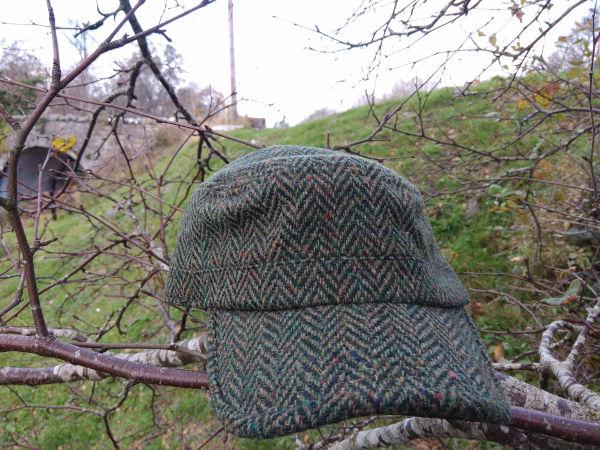 Tweed-Combat-Baseball-Hats-Green