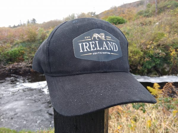 Ireland-black-cotton-baseball-cap-glenriver