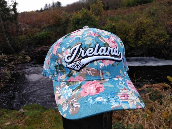 Ireland-floral-glen-river-knitwear-fashion-cotton-baseball-cap