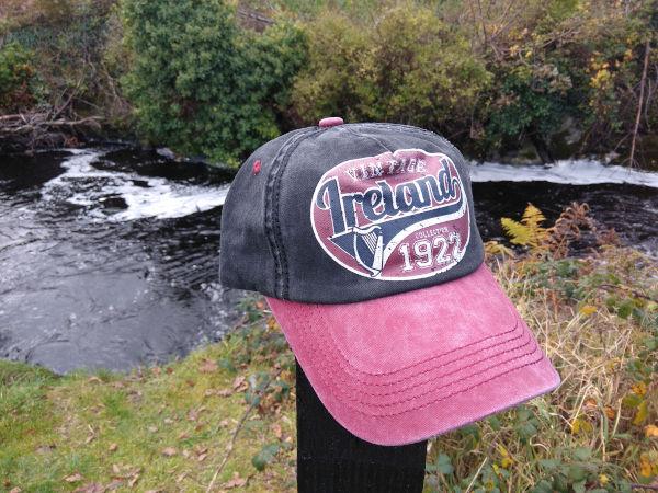 Vintage-ireland-black-glen-river-cotton-base-ball-cap