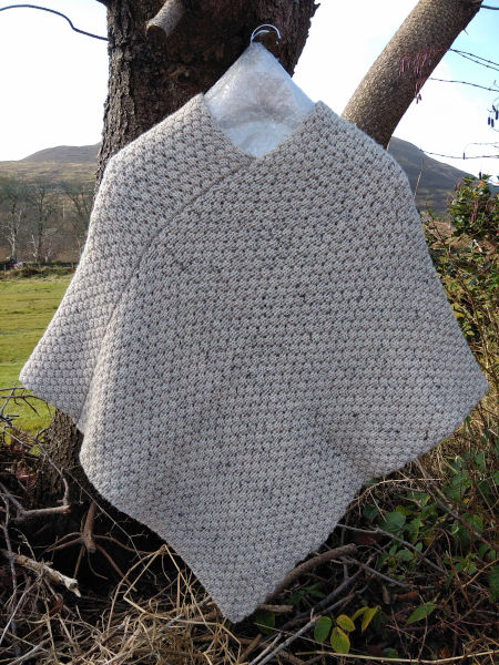 beige-marl-berry-poncho-bunglas-collection-glen-river-knitwear-donegal