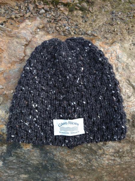 charcoal-berry-wool-hat-glen-river-knitwear-donegal