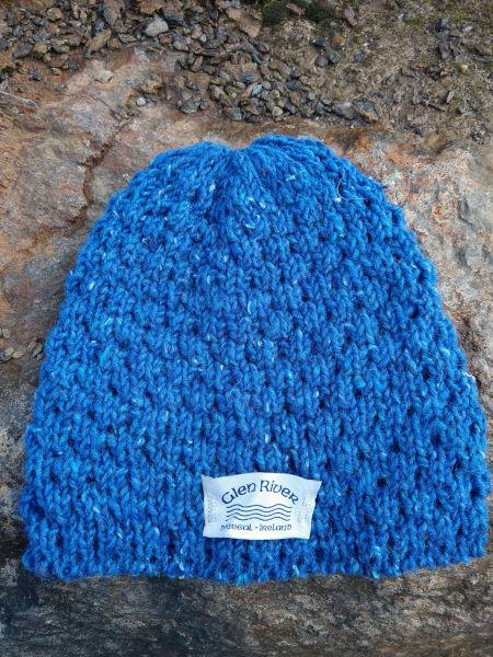med-blue-berry-wool-hat-glen-river-knitwear-donegal