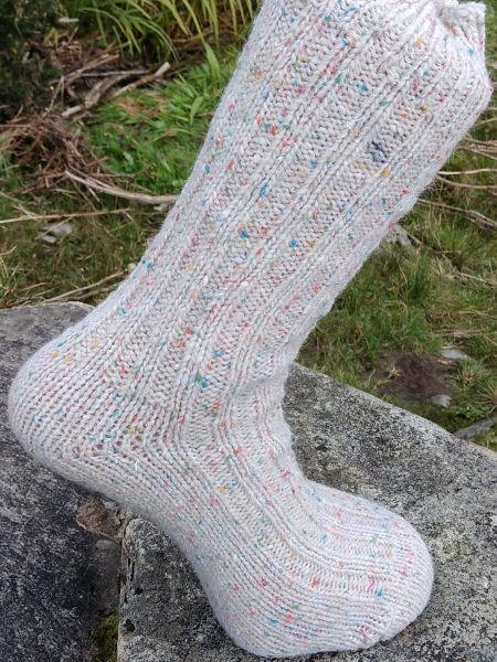 natural-fleck-walking-socks-glen-river-knitwear-donegal
